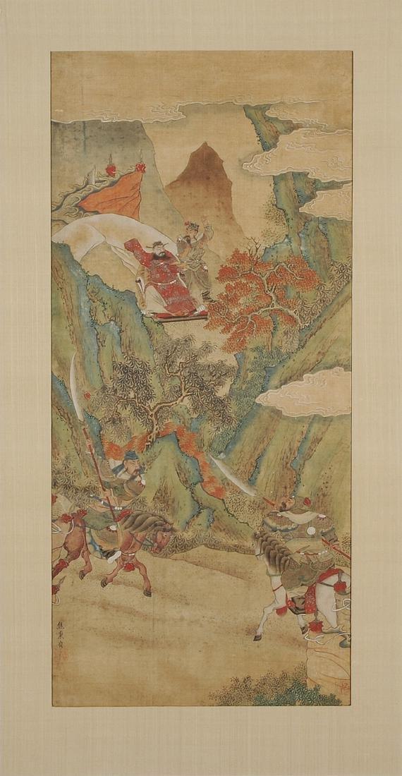 Nach Jiao Bingzhen (1689–1726) China. Tusche und Farbe - 2