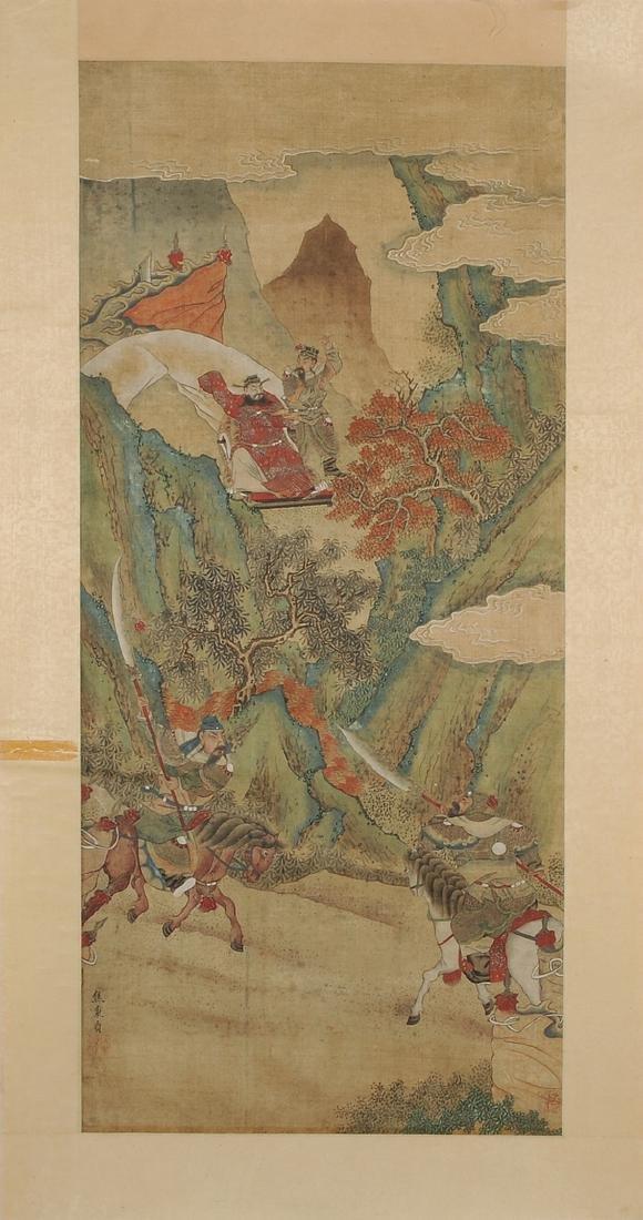 Nach Jiao Bingzhen (1689–1726) China. Tusche und Farbe - 3