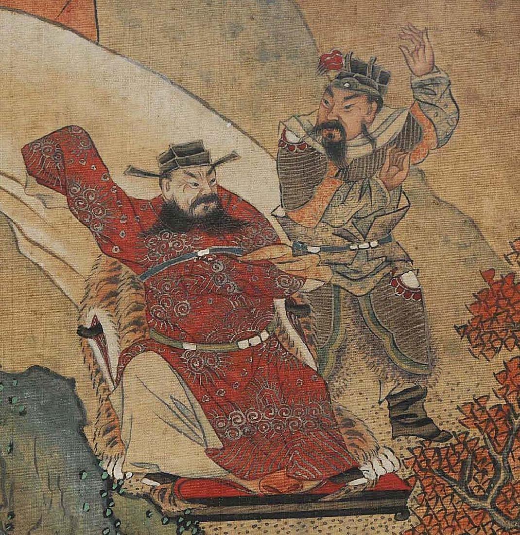 Nach Jiao Bingzhen (1689–1726) China. Tusche und Farbe - 5