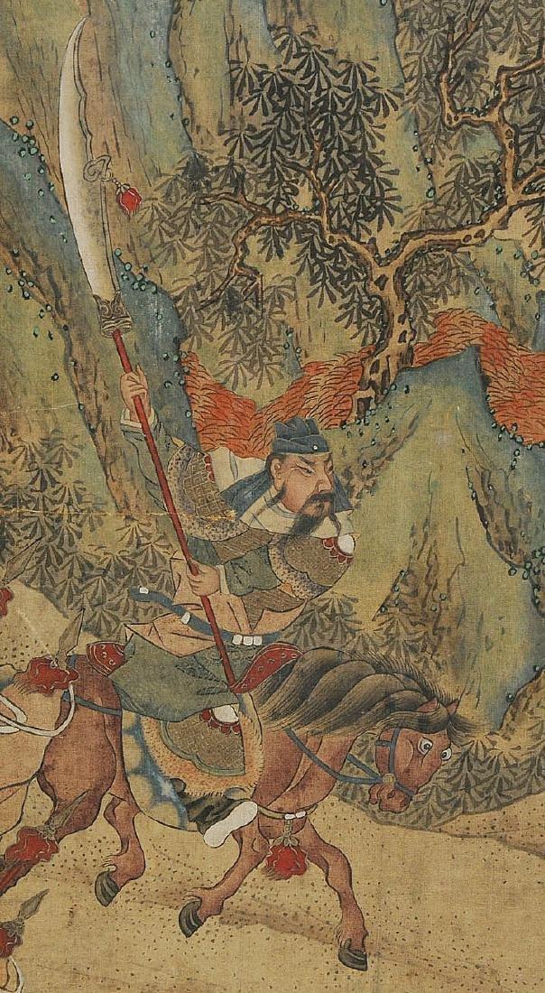 Nach Jiao Bingzhen (1689–1726) China. Tusche und Farbe - 6