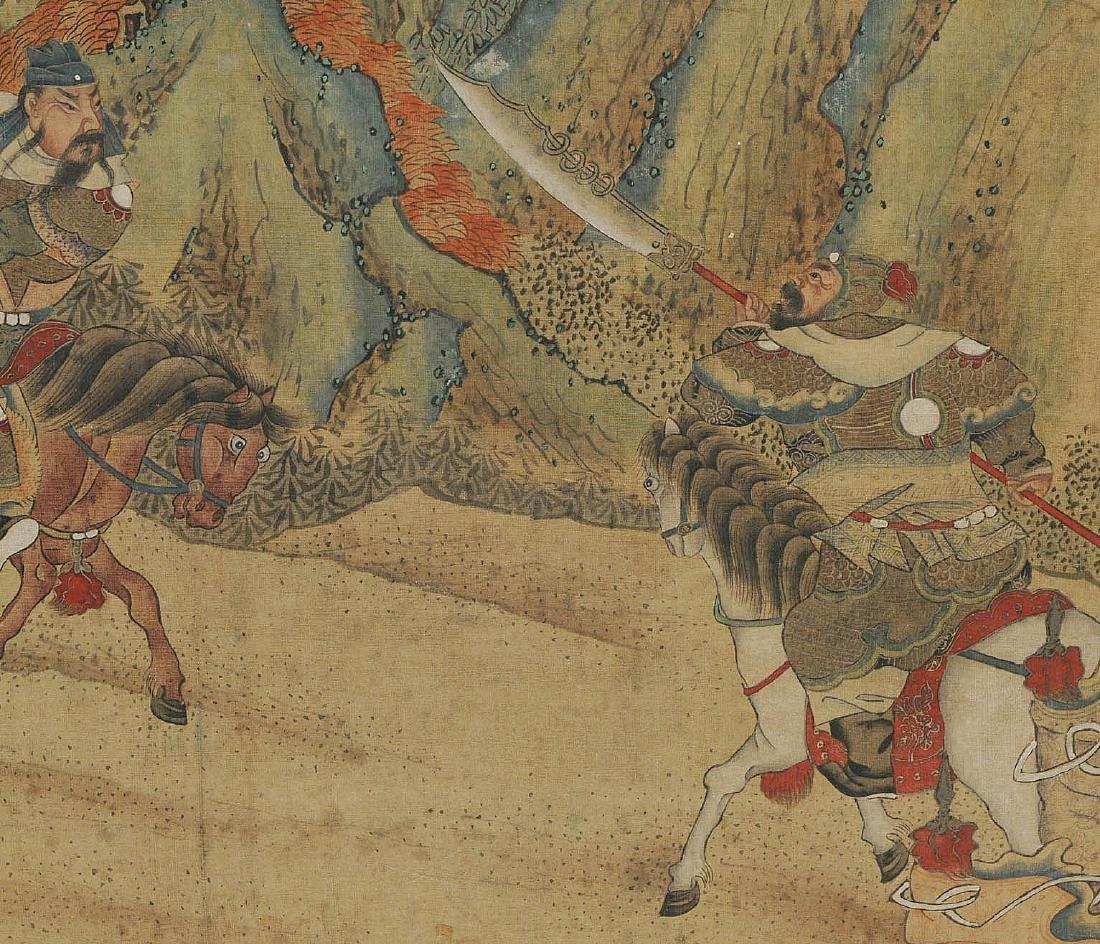 Nach Jiao Bingzhen (1689–1726) China. Tusche und Farbe - 7