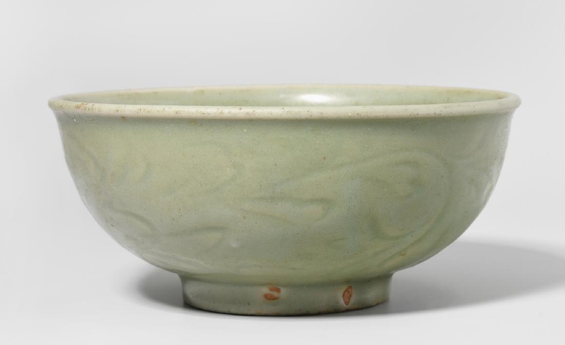 Schüssel China, Ming-Dynastie, 14.–15.Jh. Longquan.