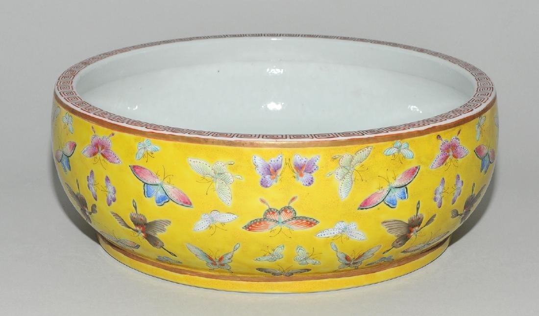 Gefäss China, um 1900. Eisenrote Guangxu-Marke. Kurze - 2