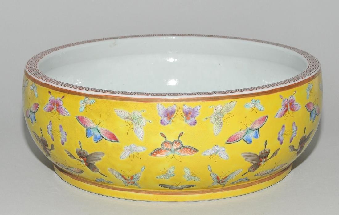 Gefäss China, um 1900. Eisenrote Guangxu-Marke. Kurze - 3