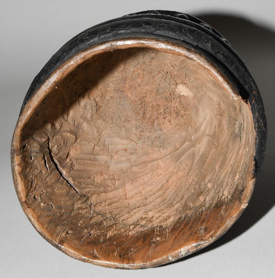 """""""Sowei""""-Maske Vai. Sierra Leone/Liberia. Holz, schwarz - 6"""