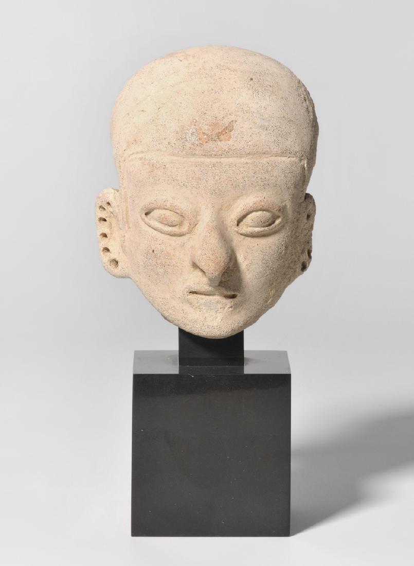 Kleiner Kopf Tumaco-La Tolita, Ecuador, 100 B.C.–100