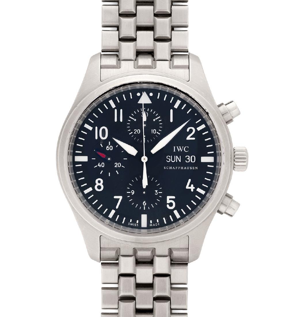 IWC Spitfire Runder, automatischer Herrenchronograph