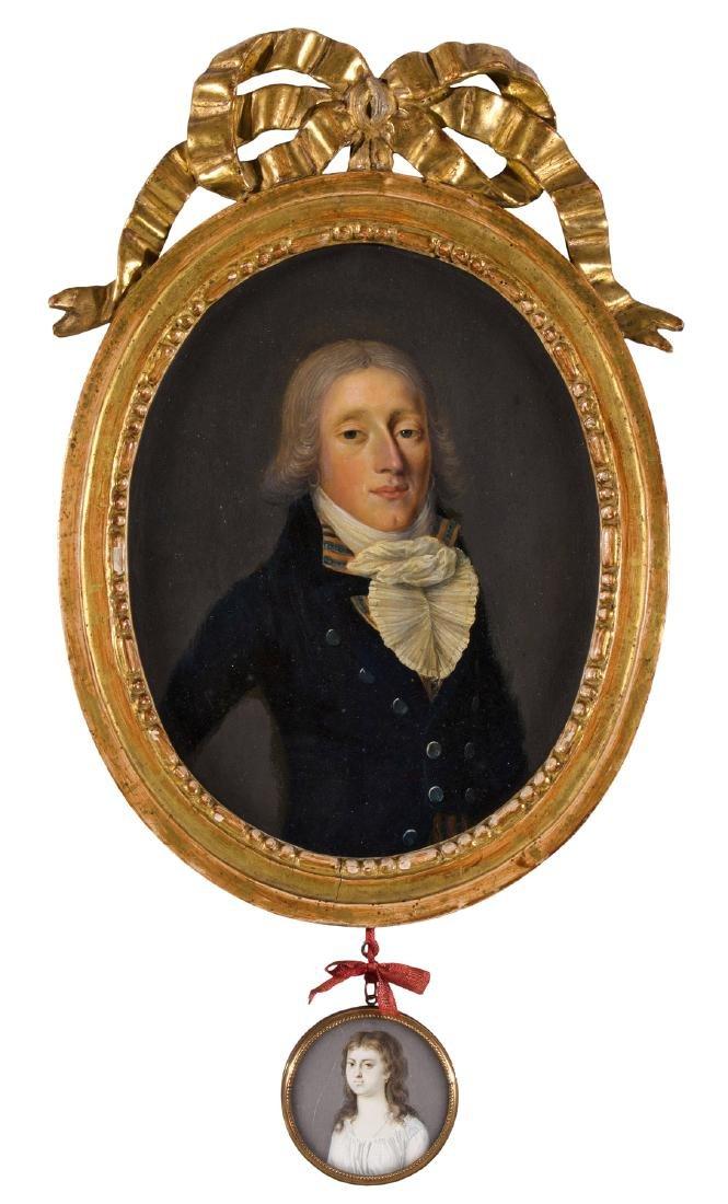 Anonym, um 1800 Portrait eines Herrn Pfyffer,