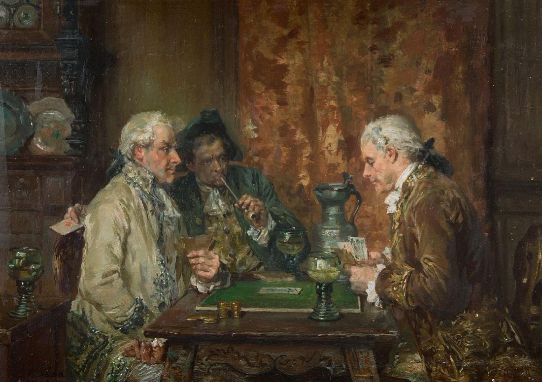 Grison, François-Adolphe (Bordeaux 1845–1914 Chêne -