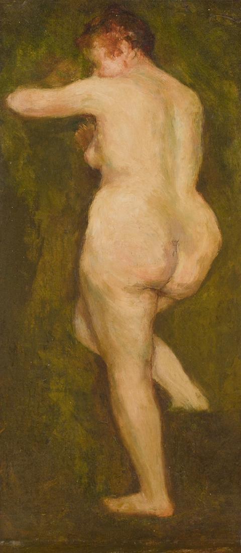 "Auberjonois, René (1872 Lausanne 1957) ""Baigneuse"", um"