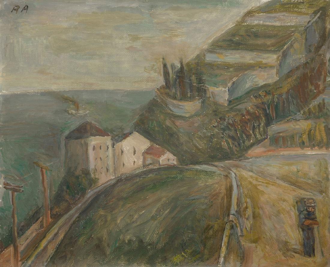 """Auberjonois, René (1872 Lausanne 1957) """"La minoterie,"""