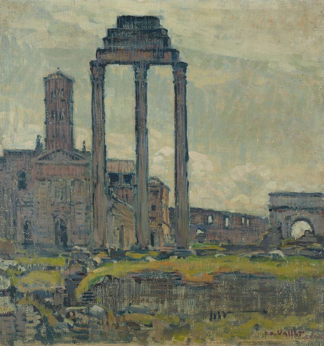 "Vallet, Edouard (Genf 1876–1929 Cressy) ""Au Forum"