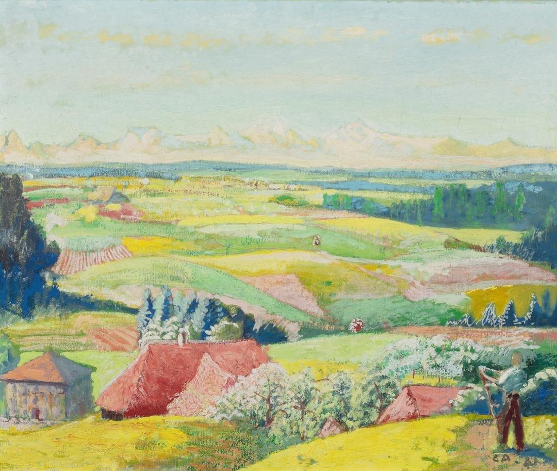 "Amiet, Cuno (Solothurn 1868–1961 Oschwand) ""Lueg"""