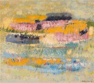 Rhee, Seundja  (Jinju 1918–2009 Paris) Komposition.