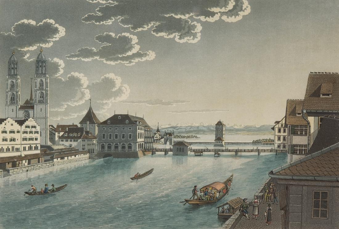 """Arter, Paul Julius (Zürich 1797–1839 München) """"Zurich"""