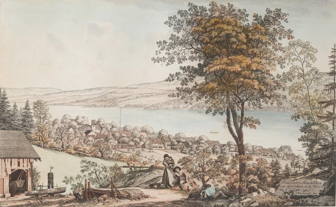 "Aschmann, Johann Jakob (1747 Thalwil 1809) ""Prospect v."