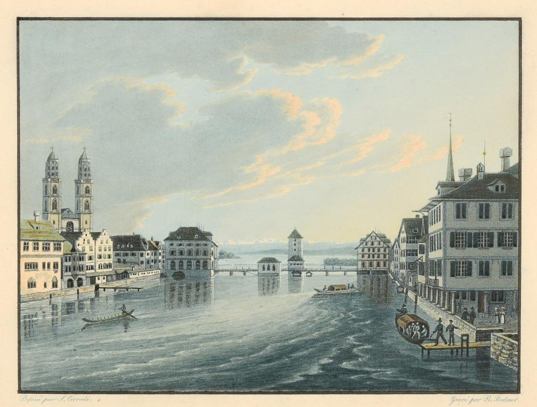 """Corrodi, Salomon (Fehraltorf 1810–1892 Como) """"Zurich"""