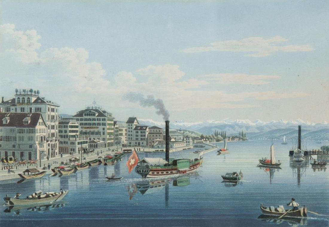 "Dikenmann, Johann Rudolf (1832 Zürich 1888)  ""Zurich"