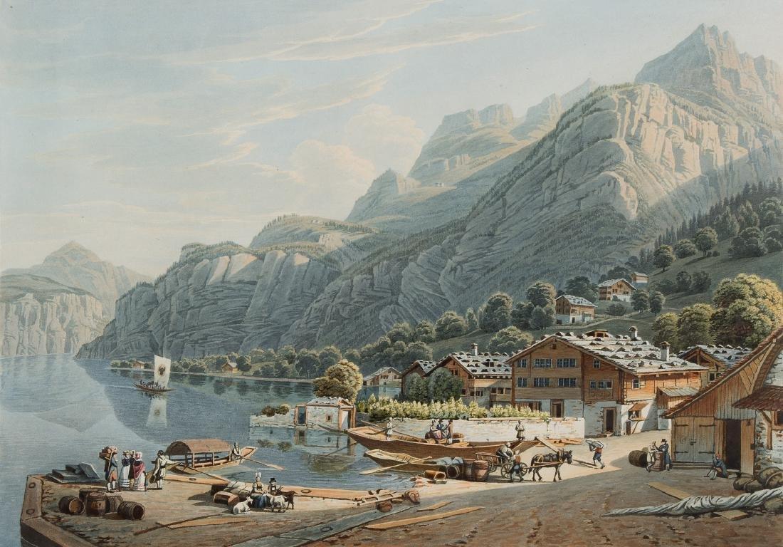 "Lory, Gabriel fils (1784 Bern 1846) ""Vue du Port de"