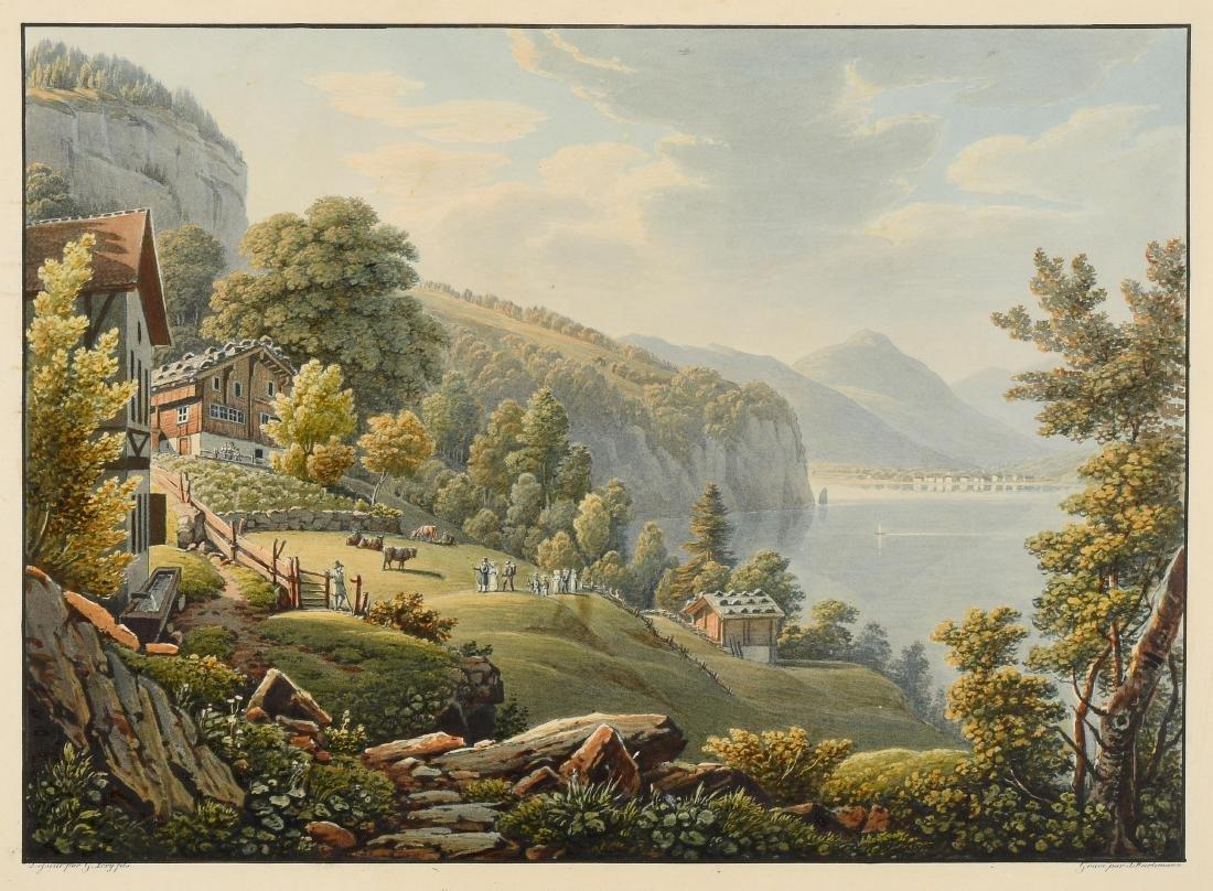 "Lory, Gabriel fils (1784 Bern 1846) ""Vue du Grütli sur"