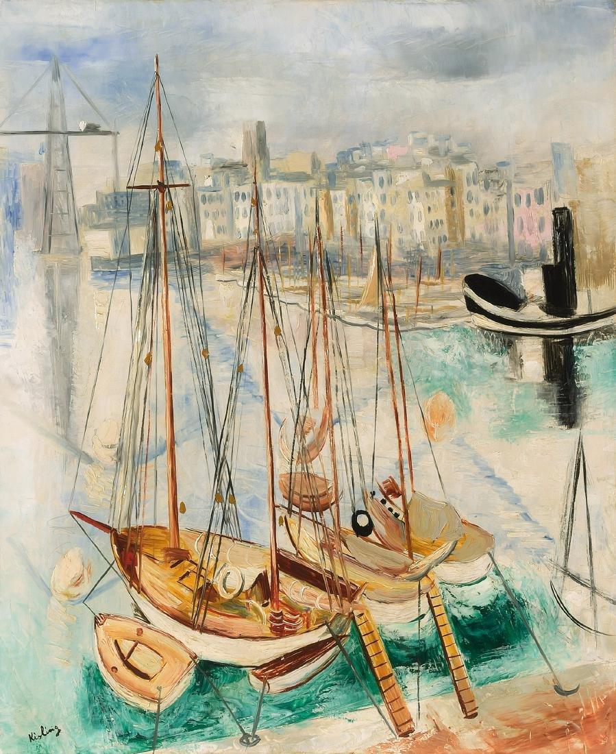 *Kisling, Moïse  (Krakau 1891–1953 Sanary-sur-mer) Port