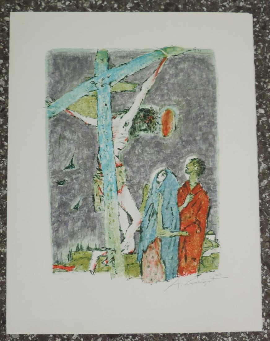 Carigiet, Alois (Trun 1902–1985 Trun) Christus am