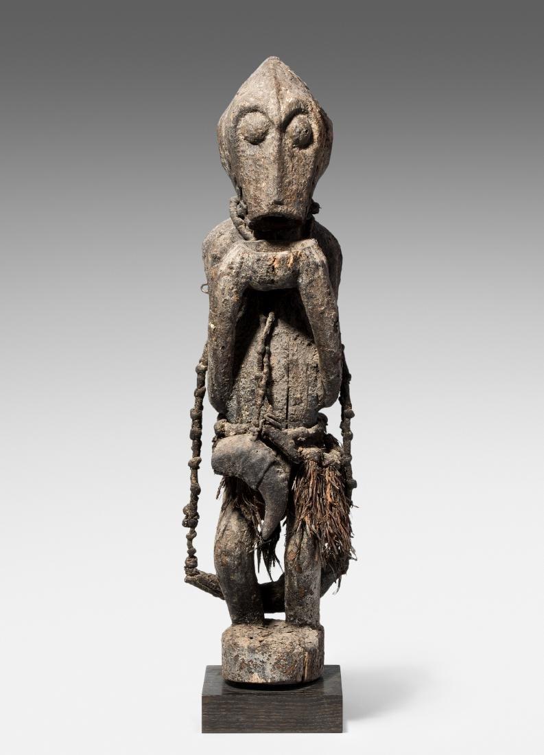 """""""Gbekre""""-Affenfigur Baule. Elfenbeinküste. Holz und"""