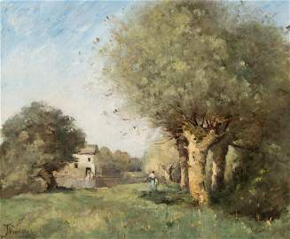 Trouillebert, Paul Désiré  (1829 Paris 1900)