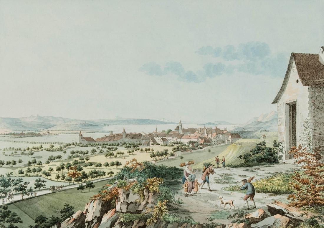 "Sprünglin, Niklaus (St. Stephan 1725–1802 Bern) ""Vüe de"