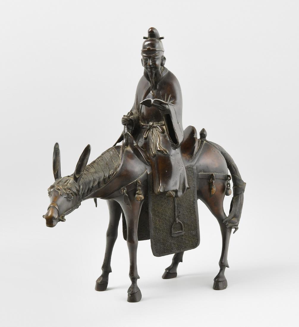 Räuchergefäss China, 20.Jh. Bronze. Räuchergefäss in