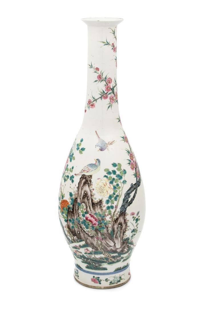 Bodenvase China, Anfang 20.Jh. Porzellan.