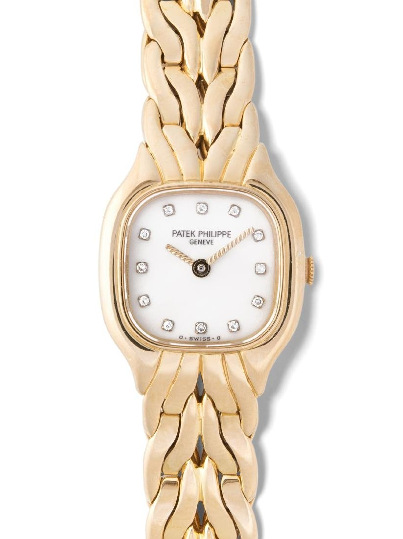 Patek Philippe Diamant-Damenarmbanduhr Genf, 1980er