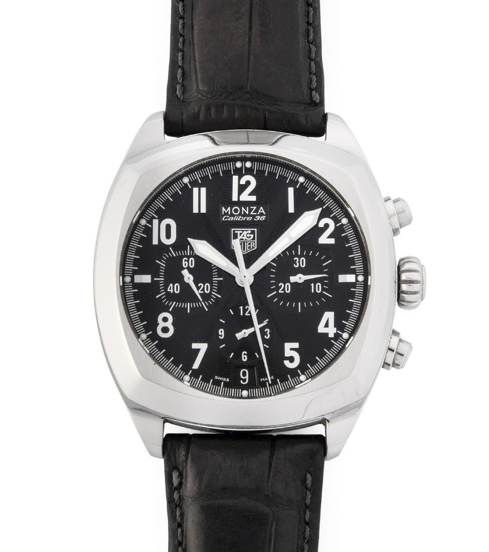 Tag Heuer Monza Runder, automatischer Herrenchronometer