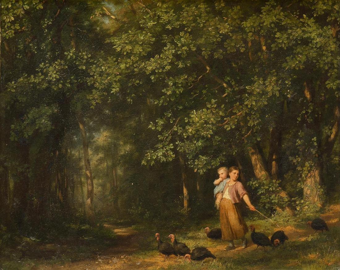 Zuber-Bühler, Fritz (Le Locle 1822–1896 Paris) Mädchen