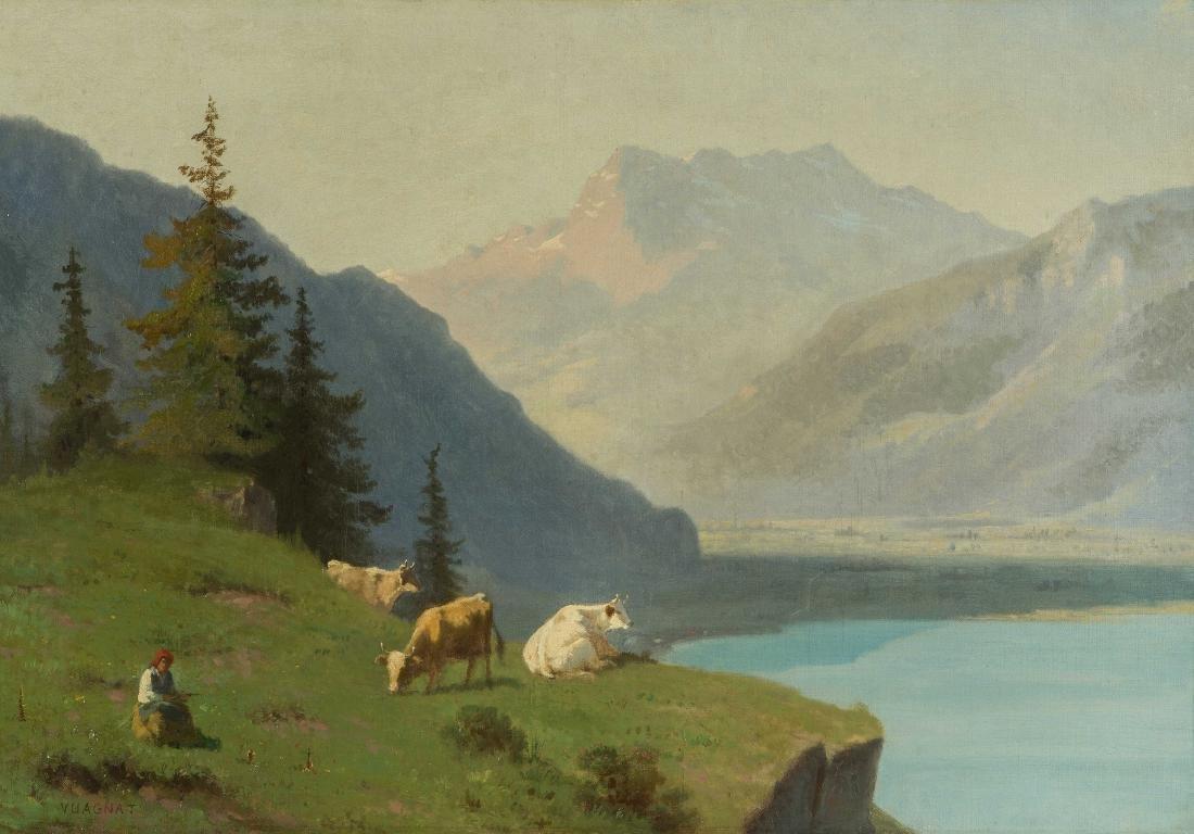 Vuagnat, François (1826 Genf 1910) Blick oberhalb