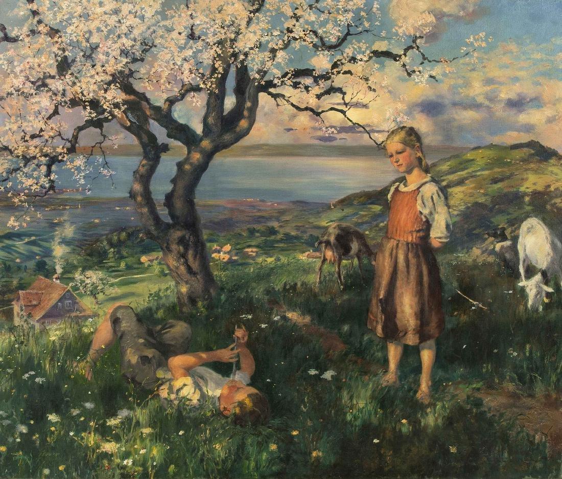 Liner, Carl (St. Gallen 1871–1946 Appenzell) Blick von