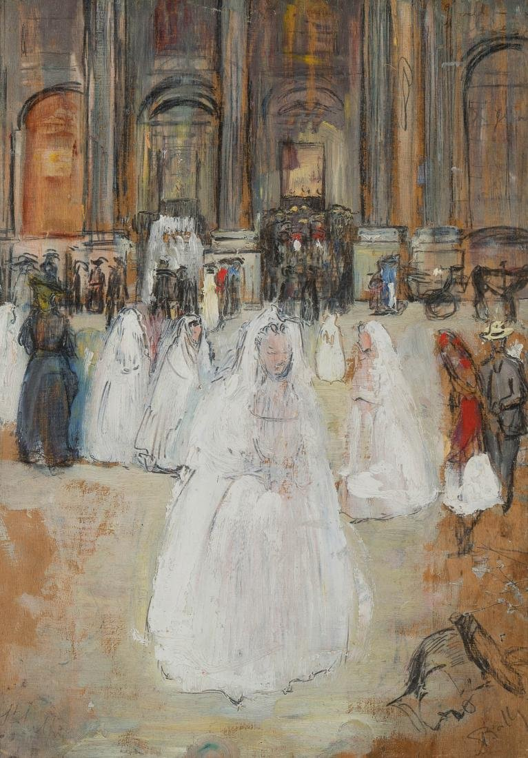 "Bailly, Alice (Genf 1872–1938 Lausanne) Paris, ""Les"