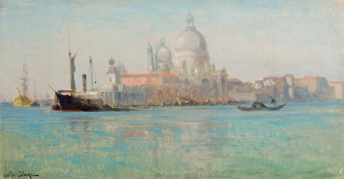 Calame, Arthur (1843 Genf 1919) Venedig, Blick auf die