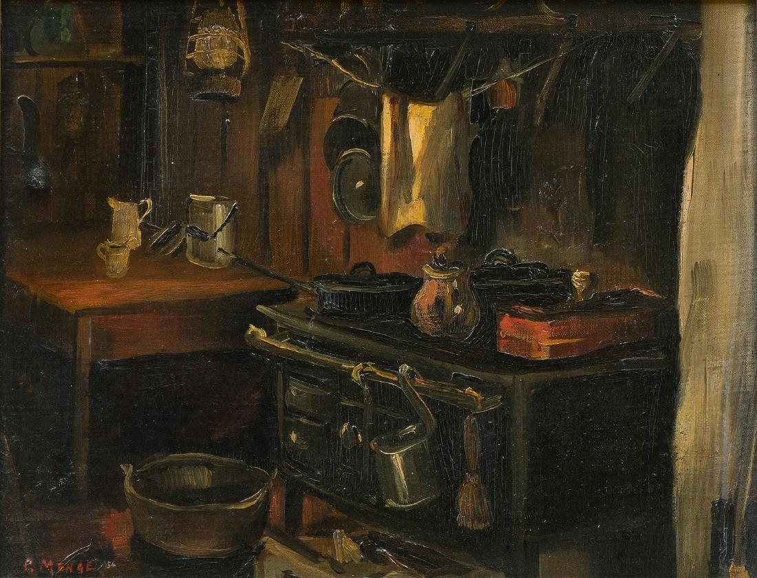 Menge, Charles (Granges 1920–2009 Montorge) Küche in