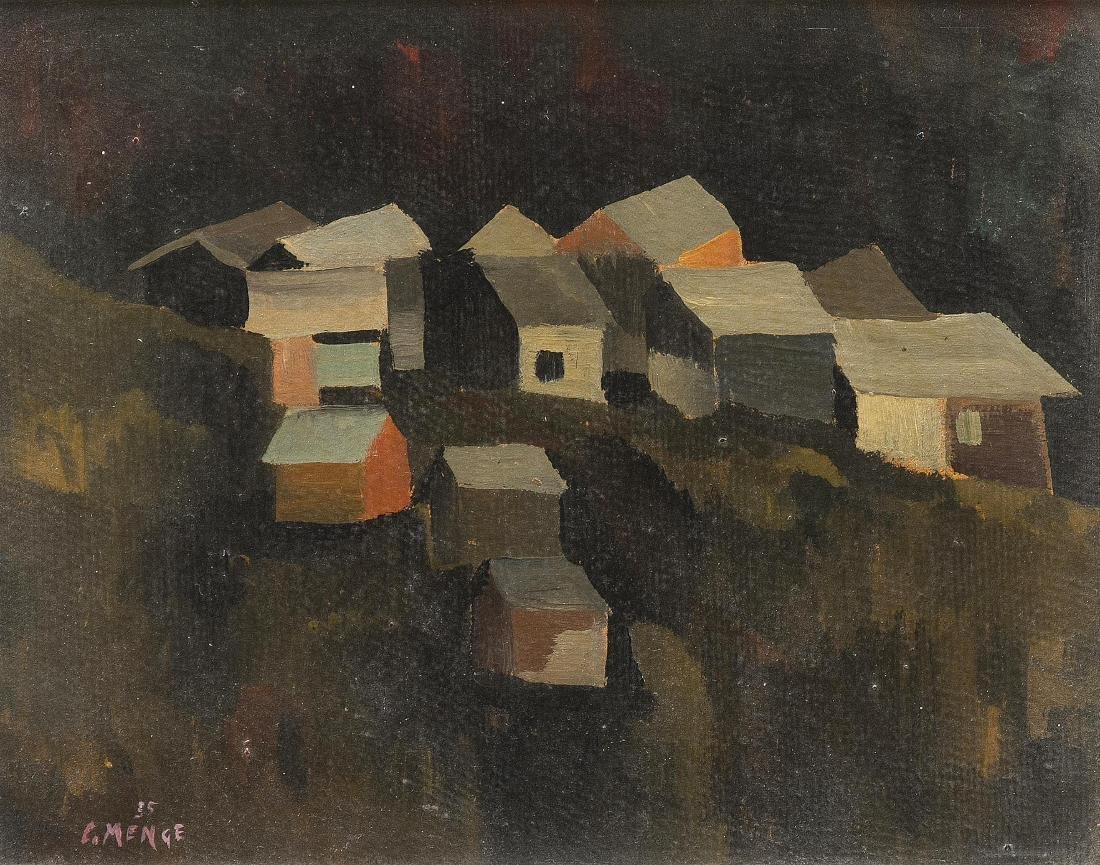 """Menge, Charles (Granges 1920–2009 Montorge) """"St."""