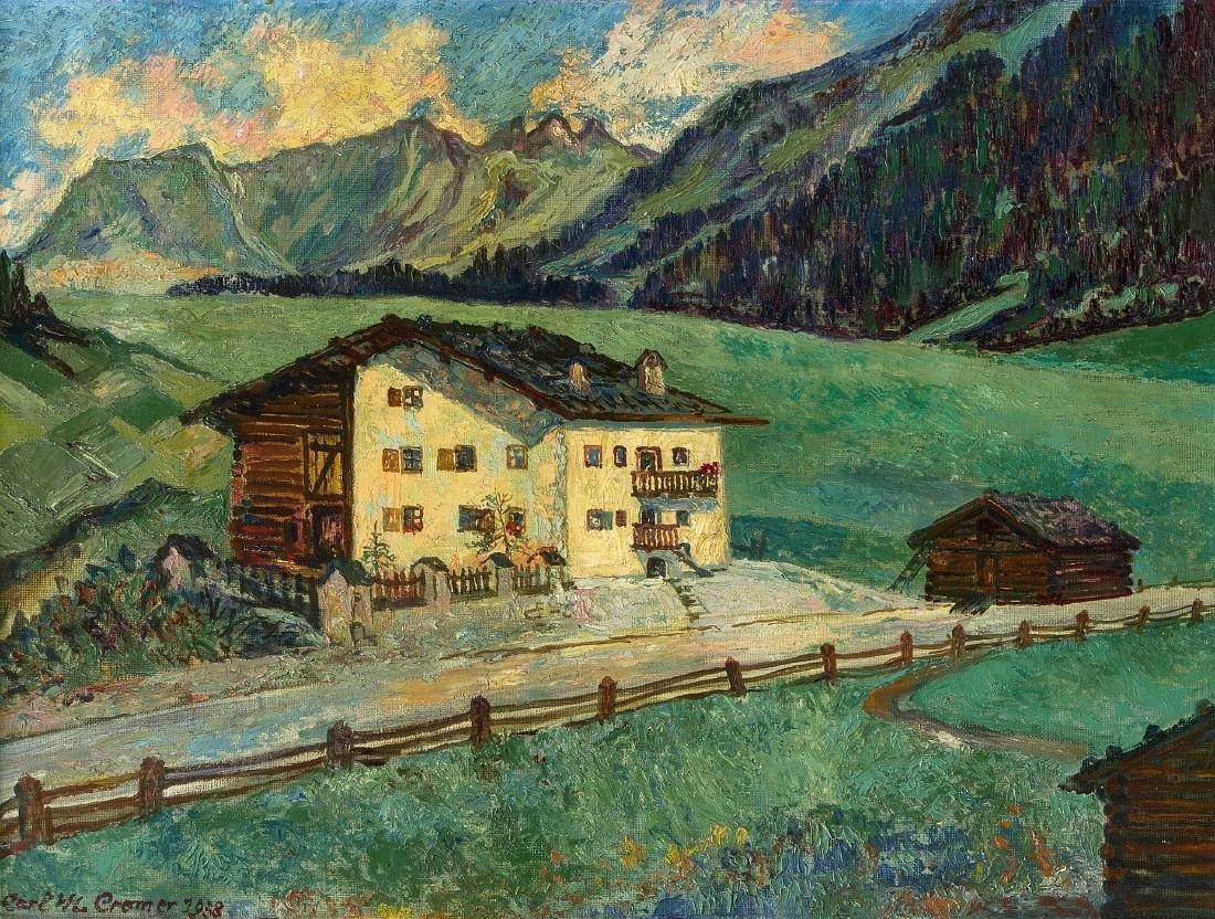 Cromer, Carl Maximilian (Wien 1889–1964 Celerina)