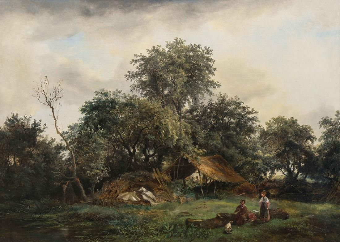 Jolivard, André (Le Mans 1787–1851 Paris) Landschaft