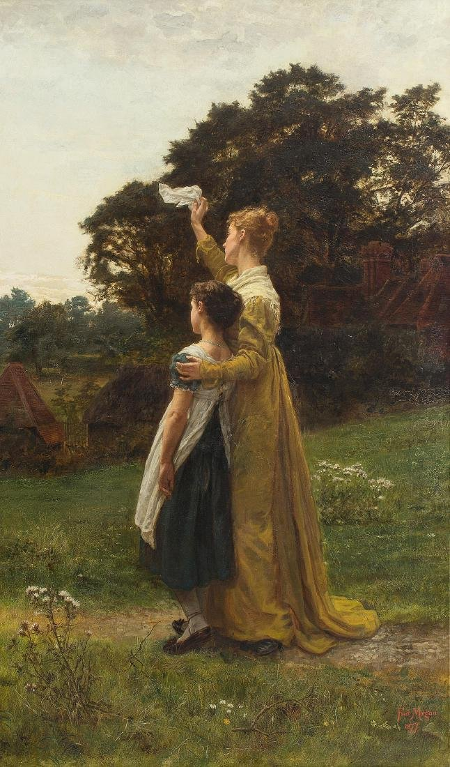 Morgan, Frederick  (London 1847/1856–1927) Der