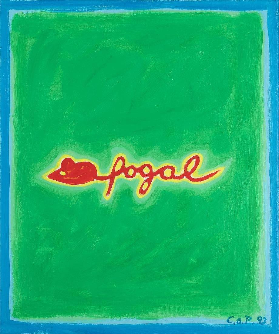 Paeffgen, Claus Otto (geboren in Köln 1933) Fogal.