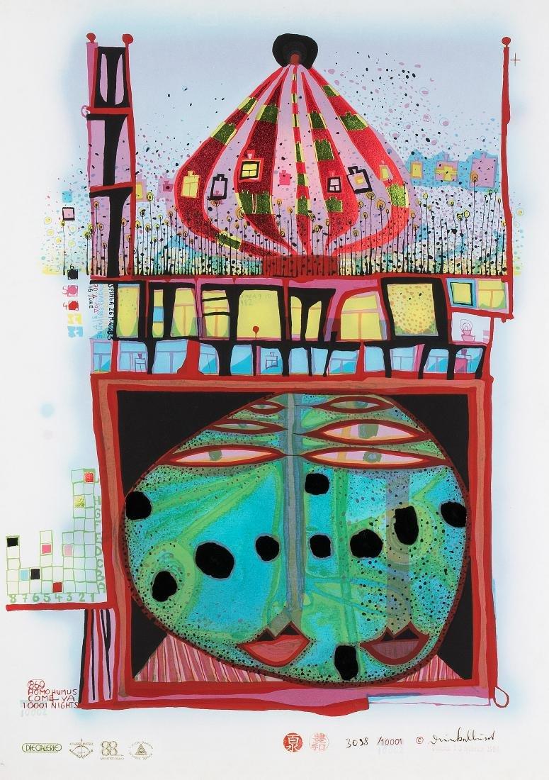 Hundertwasser, Friedensreich (Wien 1928–2000 Auf See)