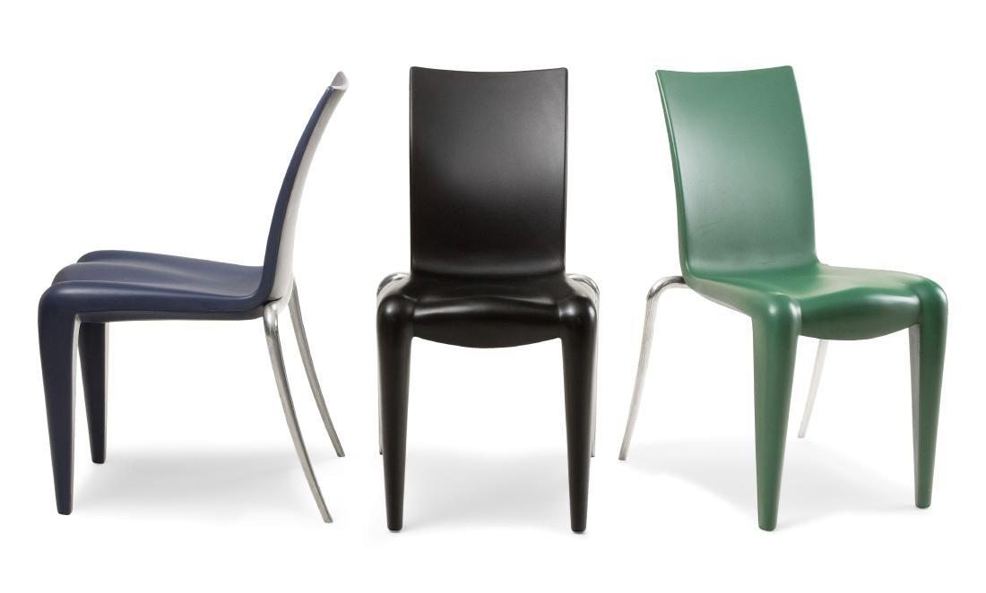 Starck, Philippe Satz von drei Stühlen Louis 20,