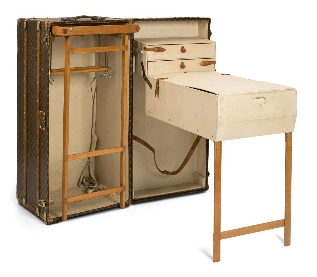 """Louis Vuitton, """"Malle-armoire"""" Schrankkoffer, wohl um"""