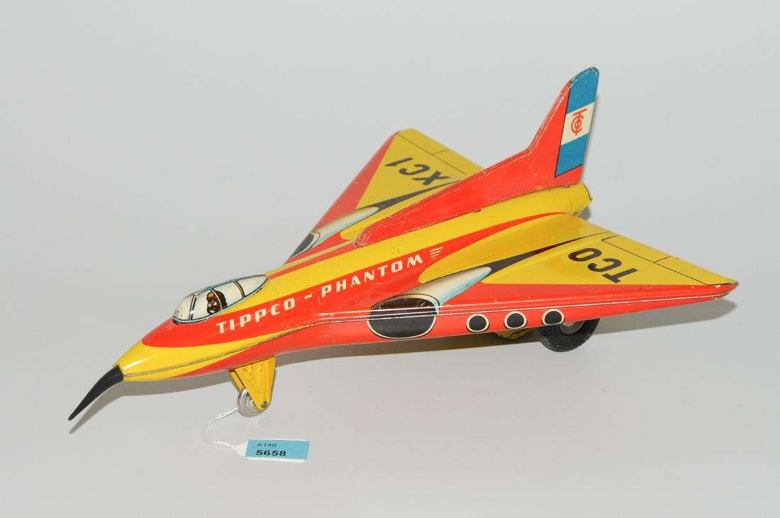 """Tippco-Flugzeug Deutschland, 1950er Jahre. """"Phantom""""."""