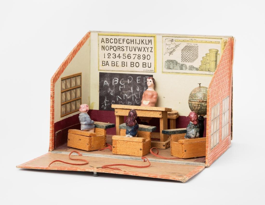 """Puppenstube """"Maison d'École"""" Französischer Hersteller,"""