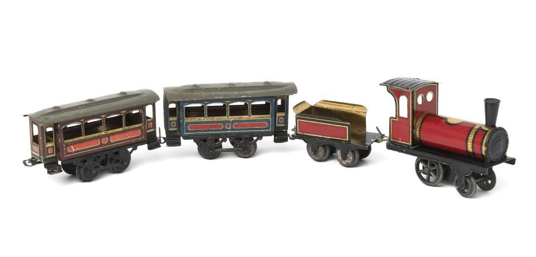 Issmayer-Eisenbahn Deutschland, um 1910/20. Blech,